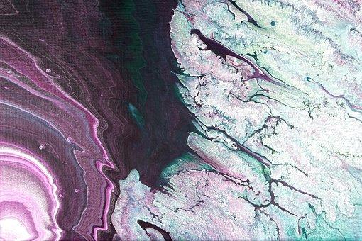 Color, Acrylic Paint, Art, Painting, Structure