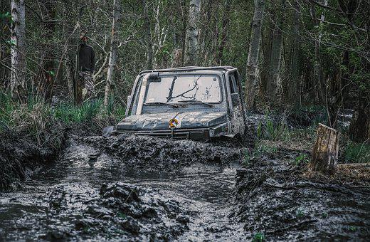 Local, Mud, Water, Dirty, Dirt, Offroad, Field