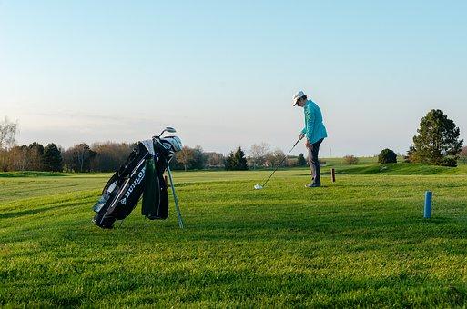 Field, Golf, Green, Grass, Lawn, Play, Golfer