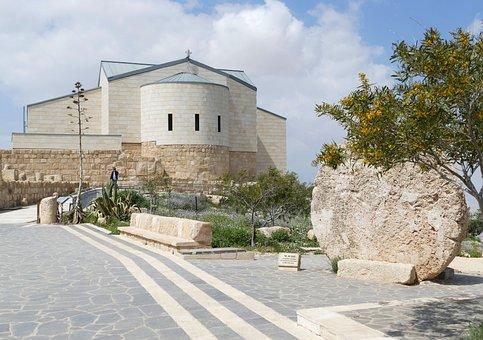 Jordan, Nebo, Mountain, Moses, Israel, Bible, Monastery
