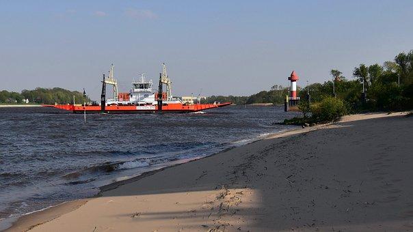 Ship, Ferry, Sea, Water, Julius Plate, Ferry Terminal