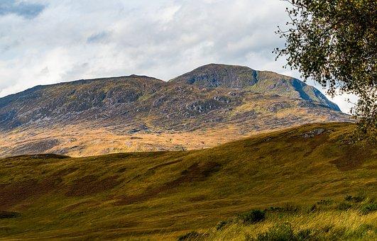 Mountain, Rock, Landscape, Nature, Sky, Clouds