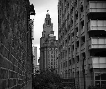 Liverpool, Liver Building, Landmark, Architecture