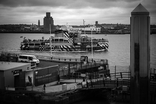 River, River Mersey, Liverpool, Ferry, Mersey
