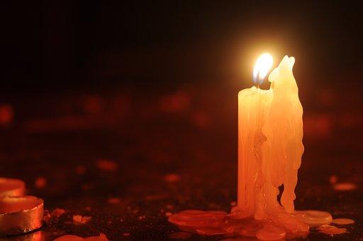 Candle, Hand, Monastery, Church, Virgin Mary, Flame