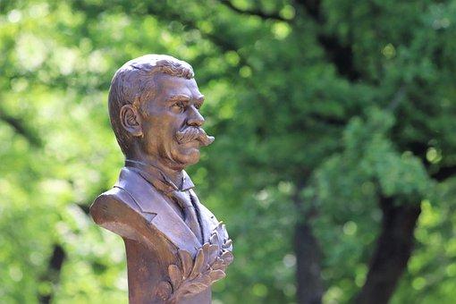 Ivan Vazov, Bulgarian Poet And Writer, Monument, Park