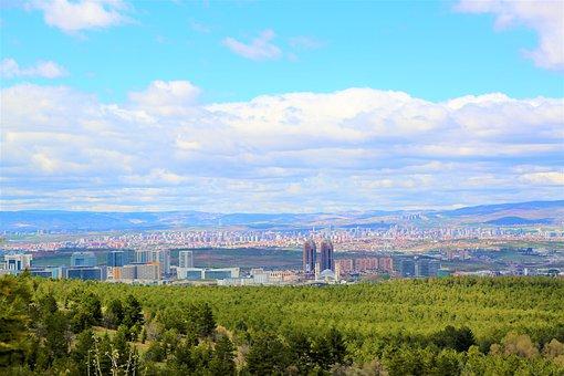 Ankara, City, Nature, Environmental, Turkey