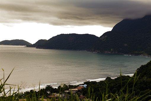 Mar, Mountains, Beach, Landscape, Mountain, Outdoor
