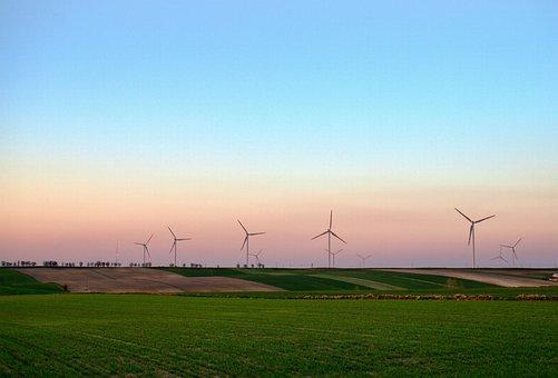 Renewable, Windmills, Energy, Sky, Blue Sky, Nature