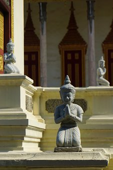 Apsara Statue, Apsara, Statue, Cambodia, Royal Palace