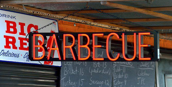 Barbecue Sign, Food, Bbq, Grilled, Meal, Snack, Meat