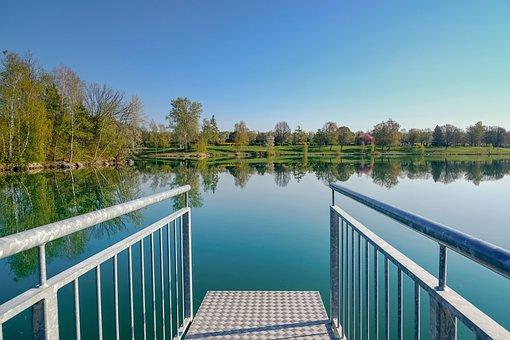Nature, Landscape, Spring, Spring Landscape, Lake