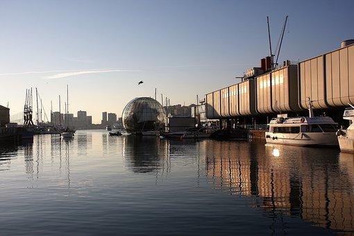 Genoa, Sea, The Old Port, Aquarium, Renzo Piano