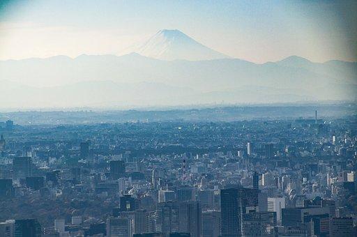 Tokyo, Japan, City, Skyline, Architecture, Travel