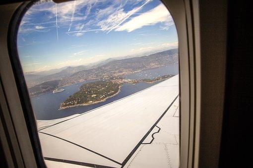 Flying, Airplane, Plane, Aircraft, Window, Flight, Sky