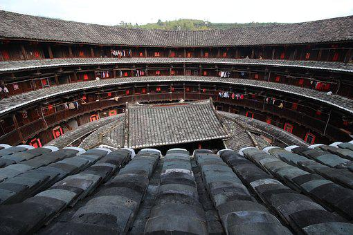 China, Old, Building, Chinese, Landmark, Museum