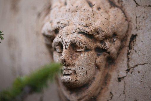 Bust, Garden, Sculpture, Park, Statue, Art, Figure