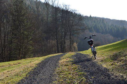 Cycling, Bicycle Tour, Eifel, Landscape, Spring, More