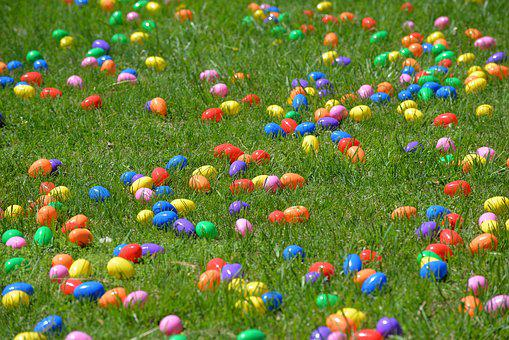 Easter Eggs, Egg Drop, Helicopter, Easter, Dropping