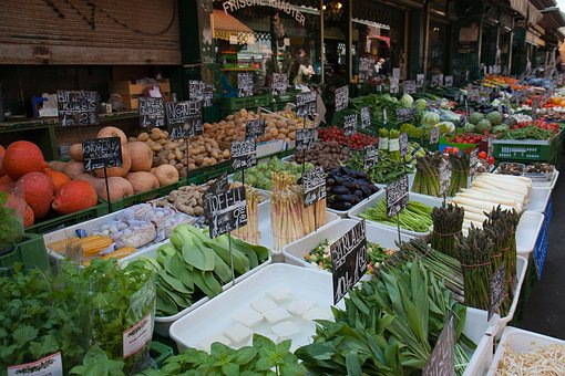 Food, Market, Farmer, Vegetables, Fresh, Nutrition