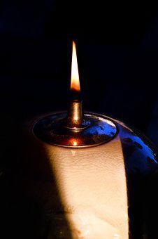 Candlelight, Flame, Light, Contemplative, Candle, Mood