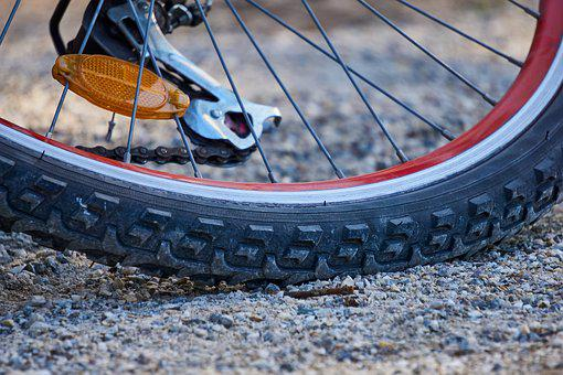 Bicycle Tires, Profile, Mature, Bike, Rim
