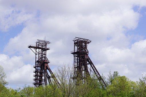 Mine, Charleroi, Belgium, Coal, Monceau-sur-sambre