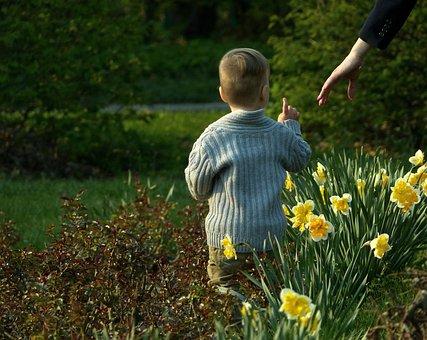 Baby, Got To Thinking, Mom, Hand, Call, Flowers