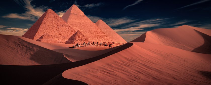 Mystic, The Mystical Path, Path, Pyramid, The Dunes