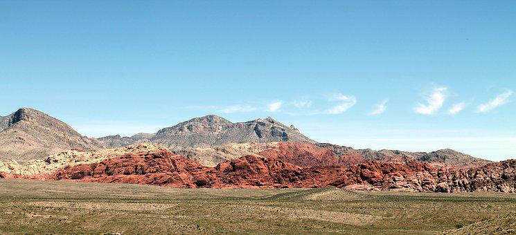 Red Rock, Red Rock Canyon, Nevada, Desert, Nature