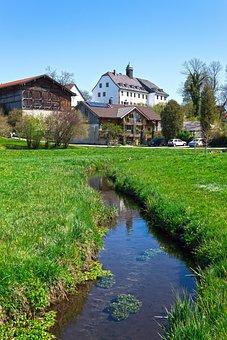 Bach, Castle, Architecture, Old, Building, Houses
