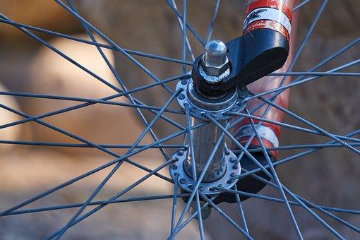 Bicycle Tires, Rim, Spokes, Wheel Hub, Hub