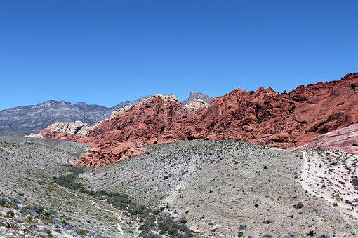 Red Rock, Red Rock Canyon, Nevada, Desert, Nature, Rock