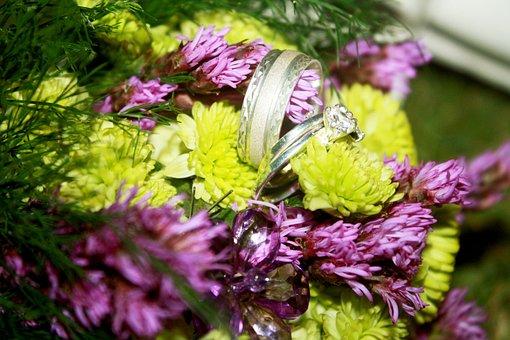 Rings, Flowers, Couples, Boyfriend, Deco, Romantic