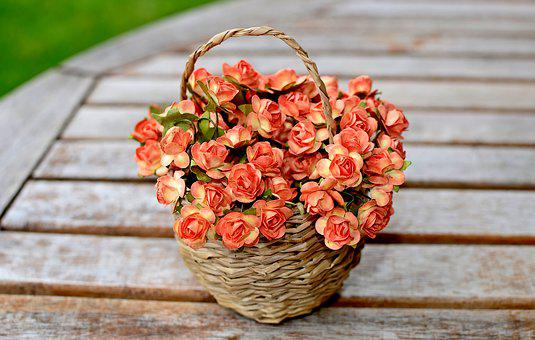 Flowers, Artificial Flowers, Rubella Syndrome, Basket