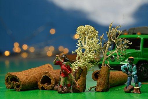 Figures, Miniatures, Miniature, Creative, Small