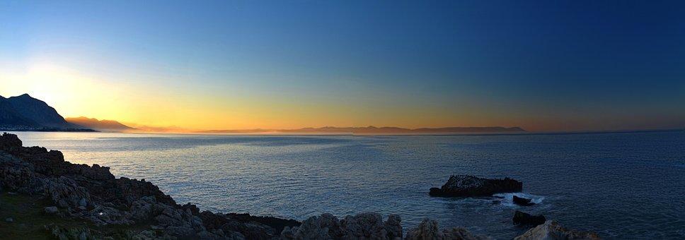 South Africa, Hermanus, Landscape, Sunset, Nature, Sea