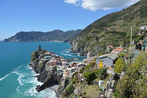 Liguria, Italy, North Italy, Vernazza, Vacations