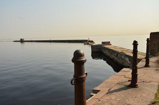 Island, Saint Petersburg, Spring, Water, Russia