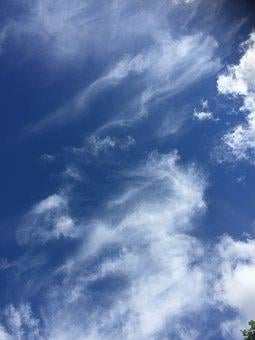Clouds, Inspiration, Uplifting, Energized, Blue, Heaven