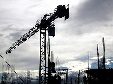 Constructions, Cranes, Bogotá