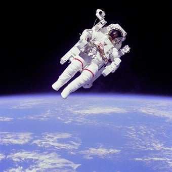 Weightless, Float, Astronaut, Bruce Mccandless