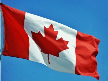 Canada, Flag, Country, Canadian, Red, Photo, Free Image