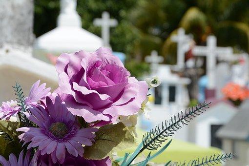 Cementerio, Flor, Cemetery, Death, Grave, Dead, Flowers