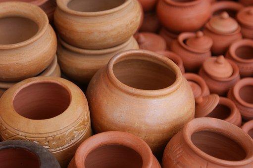 Claypots, Clay, Pots, Terracotta, Ceramic, Culture