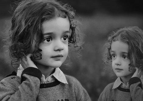 Child, The Little Girl, Portrait, Curiosity