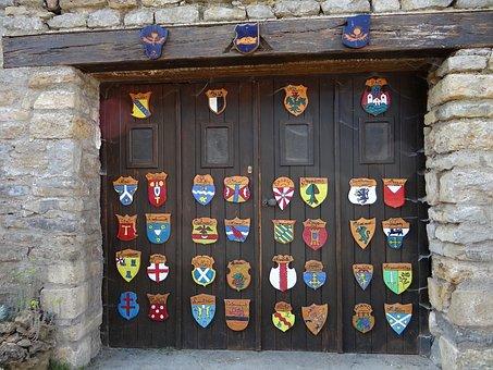 Coat Of Arms, Garage, Door, Lorraine, Amance, Cities
