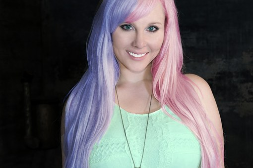 Kesha, Woman, Colors, Hair, Fashion, Rosa, Blue, Green