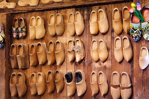 Clog, Shoes, Brown, Craft, Dutch, Footwear, Handmade