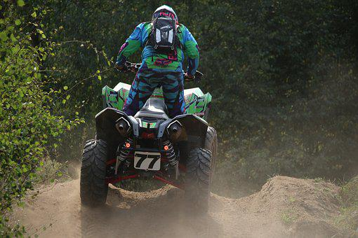 Motocross, Enduro, Quad, Atv, Motocross Ride